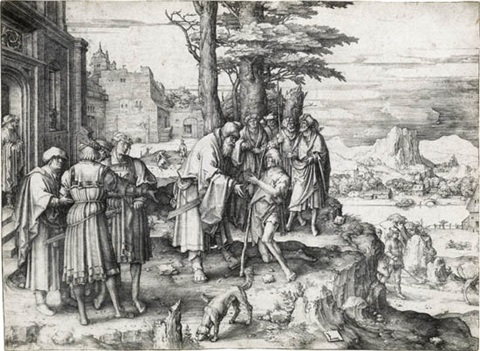the return of the prodigal son by lucas van leyden