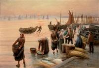 le retour de la pêche by leroux