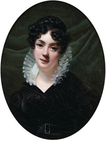 portrait de femme by firmin massot