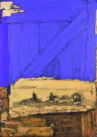 blue door, 2001 by vyacheslav mikhailov