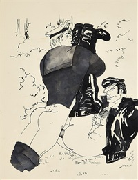 the two by tom of finland