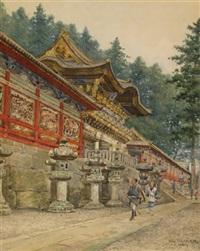 yomeimon gate, nikko by shinzo kawai