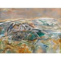 rocky landscape by joseph floch