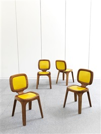 four coast chairs by marc newson