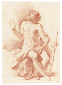 st paul the hermit by guercino