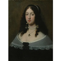 lady in a pearl necklace by flemish school (17)