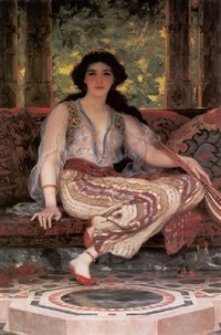 the persian girl by william clarke wontner