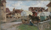 gypsy caravans by noel saunier