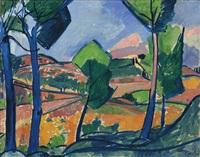 paysage provençal by andré derain