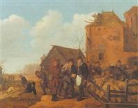 a pig market by sybrand van beest