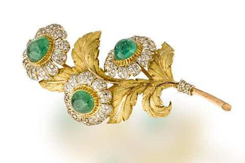 a flower brooch by buccellati