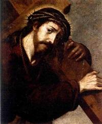 cristo con la cruz a cuestas by spanish school-cordobesa (17)