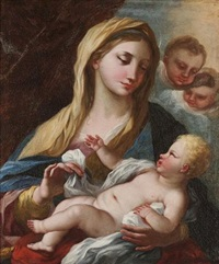 the madonna and child by nicola vaccaro