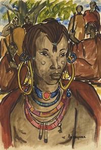 masaï by henriette le pesqueux