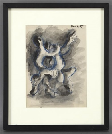 prometheus et le vautour by jacques lipchitz