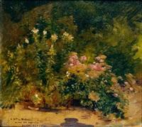 fleurs au jardin by basile lemeunier