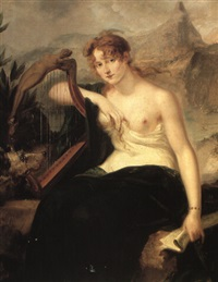 portrait of a lady as hibernia by robert fagan