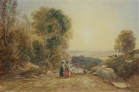 going to market by david cox the elder