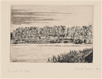 le pont du bois à ostende by james ensor