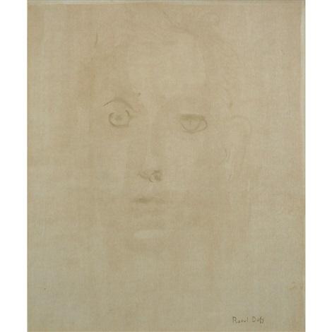 portrait de jeune homme by raoul dufy