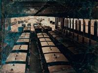 vue intérieure de la gare de tours, août by stanislas ratel