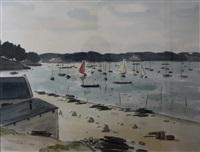 port de la trinité-sur-mer by marcel chesneau