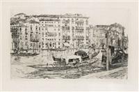 grande canal, venezia by frank duveneck