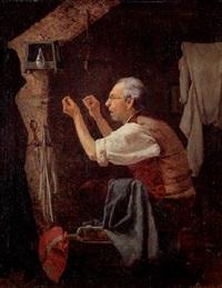 schneider in seiner stube by heinrich aschenbroich
