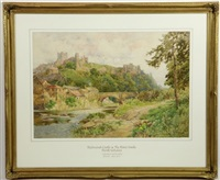 richmond castle by george hodgson