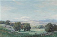 spring day near simi valley by carl oscar borg