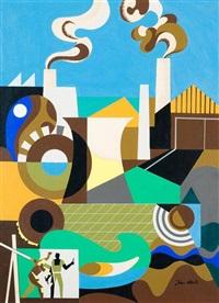 constructive landscape by jean david