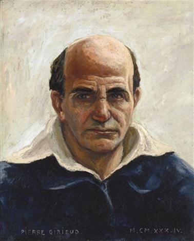 autoportrait by pierre paul girieud