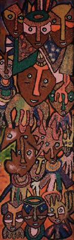 sango worshippers by jacob afolabi