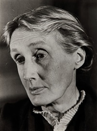virginia woolf, londres by gisèle freund