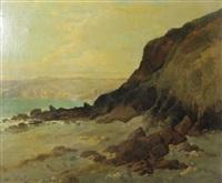 côte rocheuse, presqu'île du cotentin by jules-g. bahieu