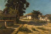monterey, street scene by manuel valencia