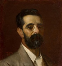 portrait of alexander e. montgomery by tom roberts