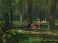 palermo (chicas en el parque) by jacques witjens