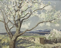 spring in tesuque by frémont ellis