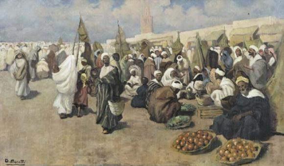 marché a marrakech by dario mecatti