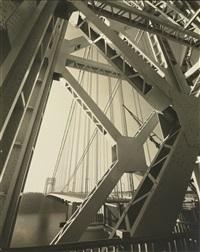 george washington bridge, new york by edward steichen