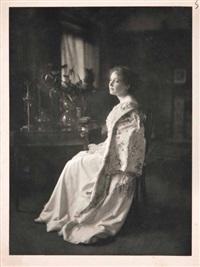lady in white by james craig annan