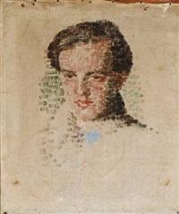 portræt af peter koch (ca. 20 år.) by julius paulsen