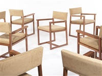 armchairs (set of 10) by de la espada
