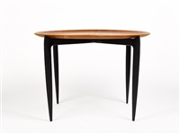 folding tray table, model 4508 by engholm & willumsen