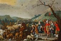 l'arche de noé by flemish school (17)