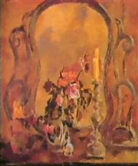 les roses, les bougies et le vieux miroir by piotr ignatiev