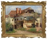 altes bauernhaus by elisabeth jordis grafin von attems