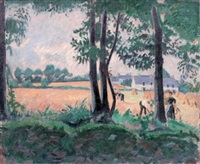 la moisson by jean puy