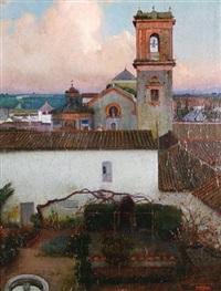 vista de pueblo by fernando labrada